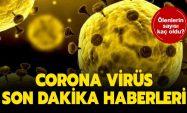 Corona Virüsünde Bugün Hasta Sayısı 1.529 , Ölen Sayısı 37 Oldu…