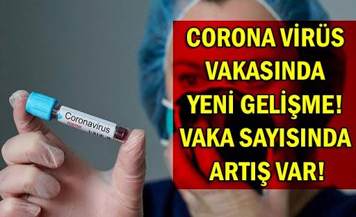 Corona Virüsünde Vaka Sayısı 18 Oldu