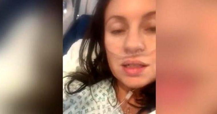 Corona Virüs Hastası Kadın Yoğun Bakımdan Video Paylaştı